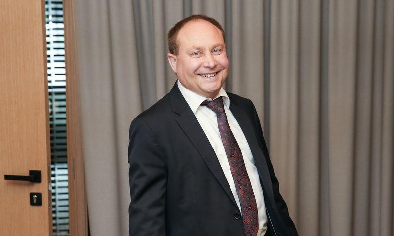 """Vytautas Turonis, """"City Service SE"""" valdybos narys, Baltijos regiono vadovas. Vladimiro Ivanovo (VŽ) nuotr."""
