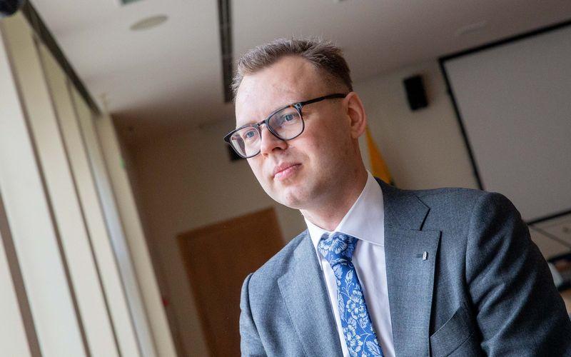 Vaidotas Šumskis, Lietuvos banko Makroprudencinės analizės skyriaus vyresnysis ekonomistas Juditos Grigelytės (VŽ) nuotr.