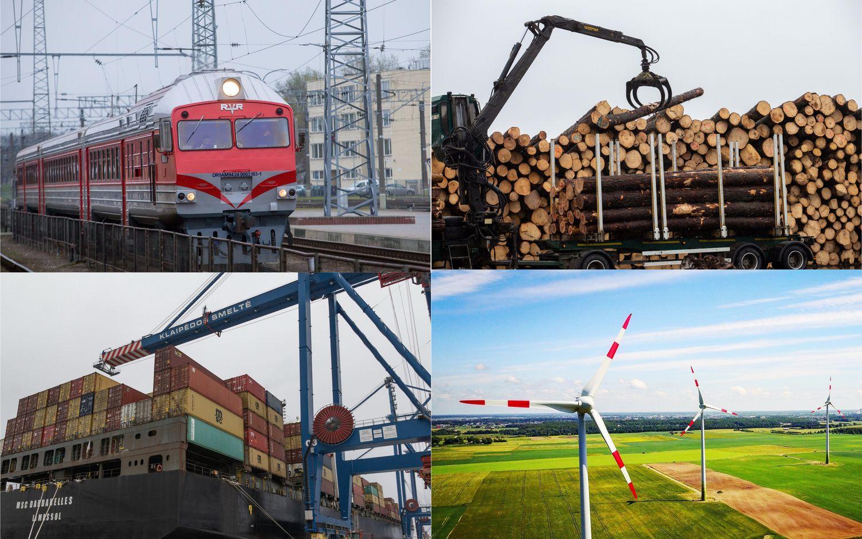 VVĮ dividendai: miškininkai aplenkė geležinkelininkus ir Klaipėdos uostą