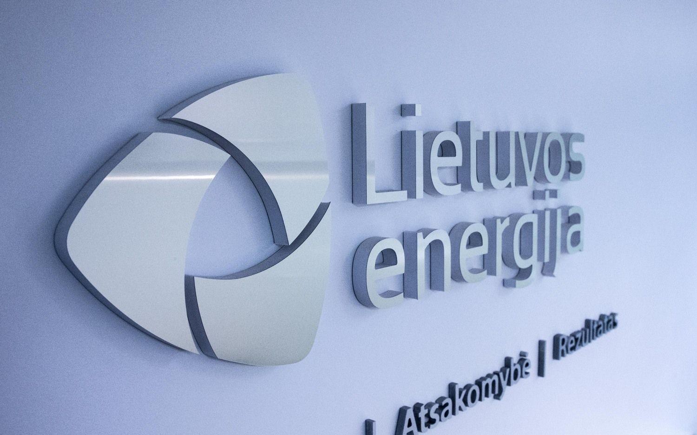 """""""Lietuvos energijos"""" pajamos šiemet augo penktadaliu iki 429 mln. Eur"""