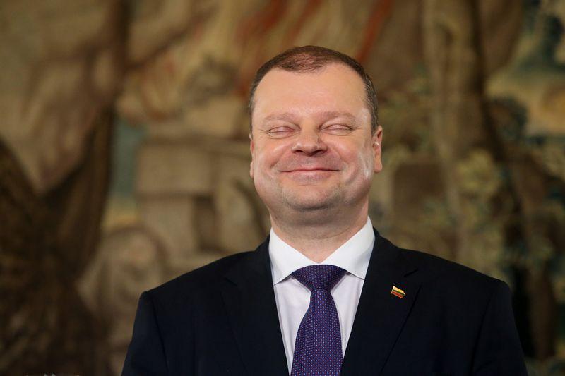 Saulius Skvernelis BNS spaudos konferencijoje. Vladimiro Ivanovo (VŽ) nuotr.