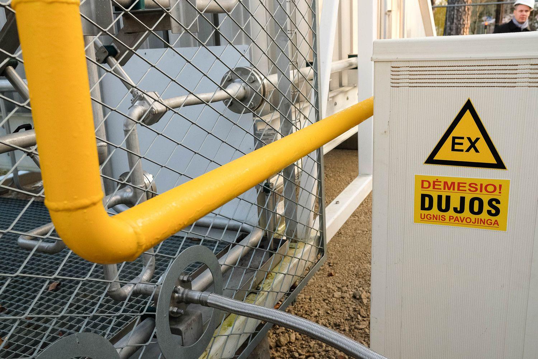 Dujų kaina gyventojams nuo liepos nesikeis