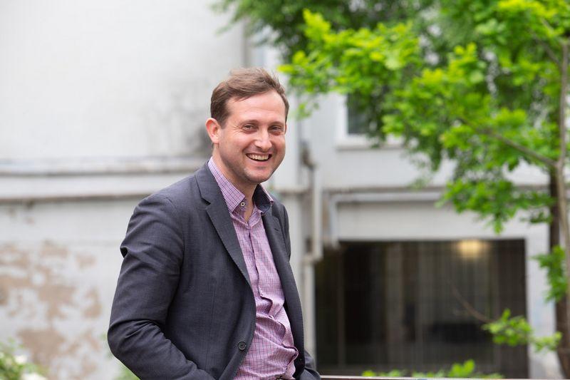 Deividas Šlekys, VU TSPMI docentas, karybos tyrinėtojas. Juditos Grigelytės (VŽ) nuotr.