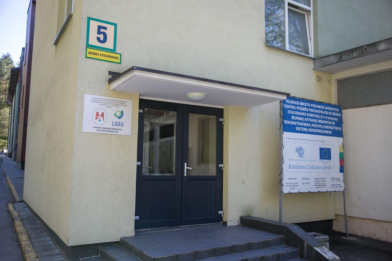 Į naują Psichikos sveikatos centro korpusą Vilniuje planuojama investuoti apie 4,5 mln. eurų.