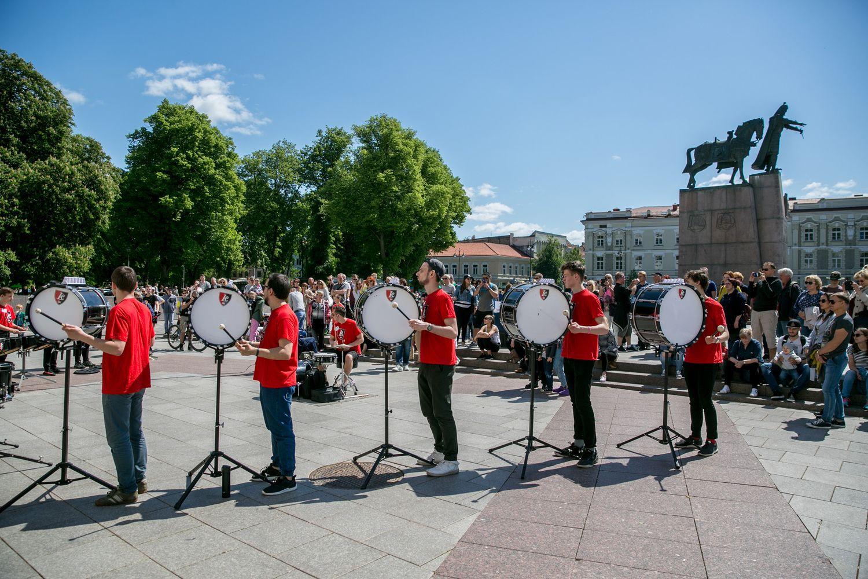 Lietuvoje vyksta Gatvės muzikos diena