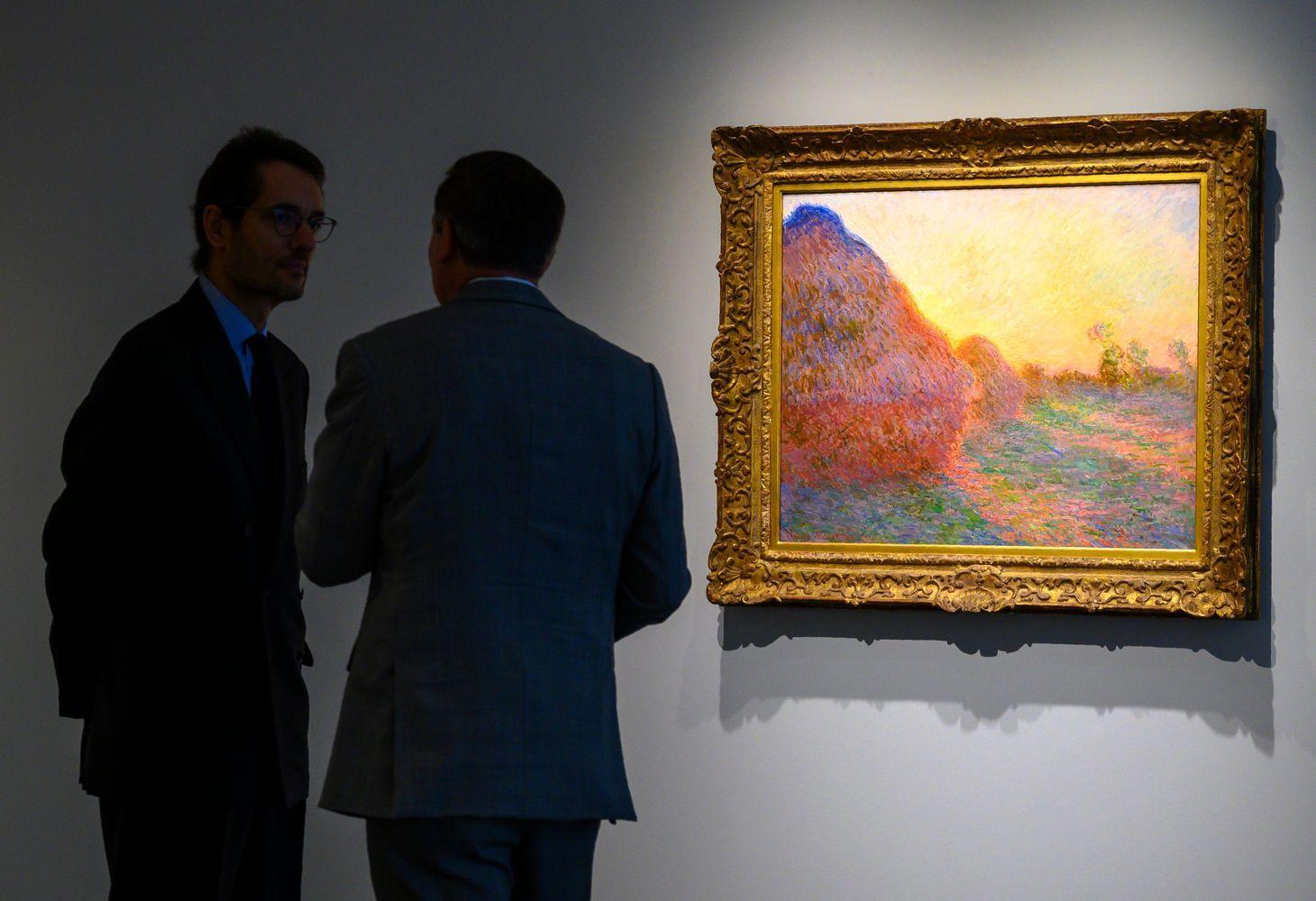 Clode'o Monet paveikslą pirkėjas įvertino 110,7 mln. USD