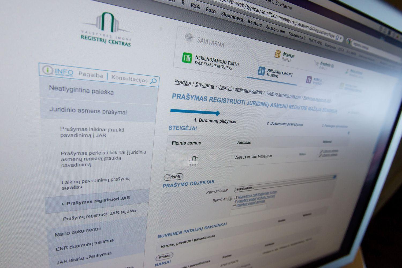 Registrų centras atnaujins Gyventojų registrą