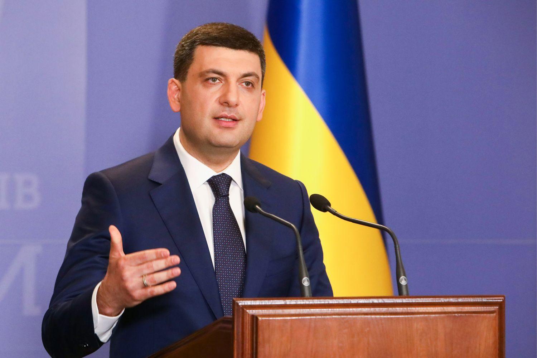 Atsistatydina Ukrainos premjeras V. Hroismanas