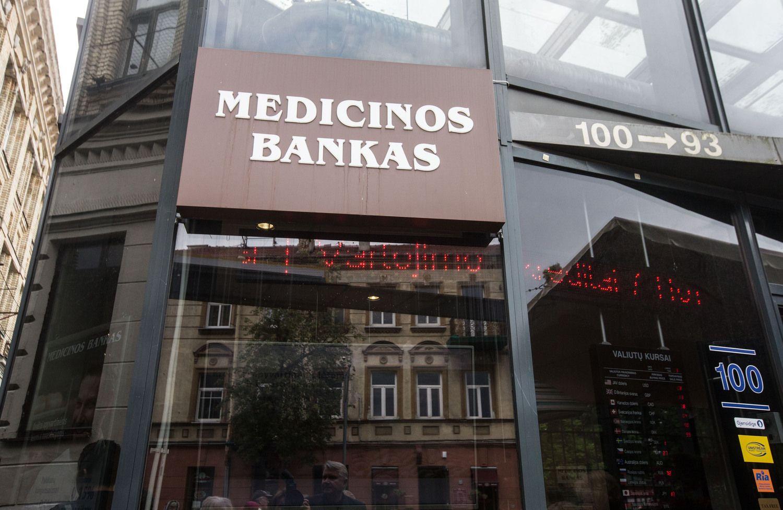 Medicinos banko pelnas beveik patrigubėjo