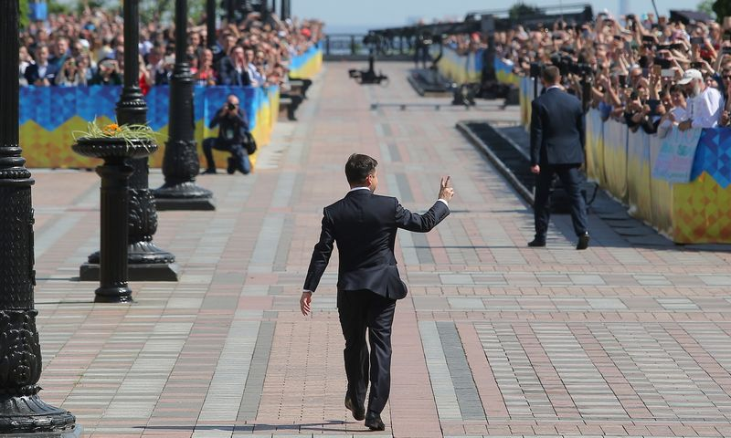 "Ukrainos prezidentas. ""Stringer"" / ""Scanpix"" nuotr."