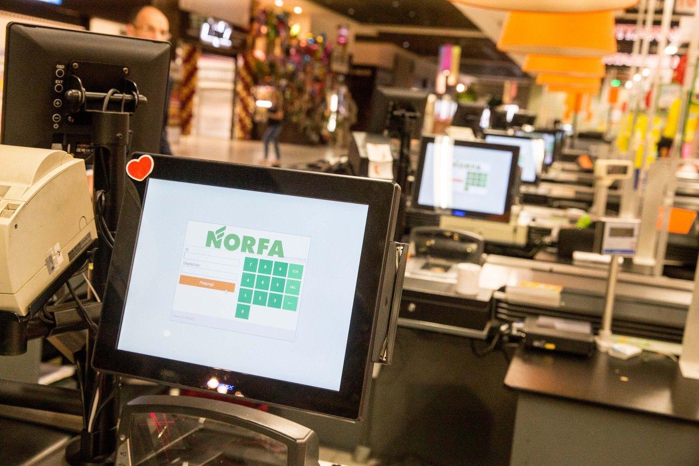 """""""Norfos"""" pelnas pernai smuko 15%"""