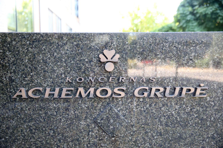 """""""Achemos grupė"""" pernai patyrė 16,5 mln. Eur nuostolių"""