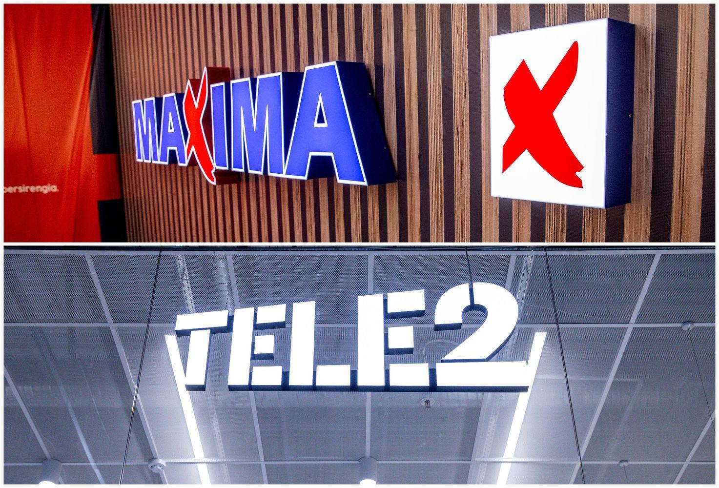 """Maxima"" užlipo ant pirmo laiptelio, ""Tele2"" – penkta"