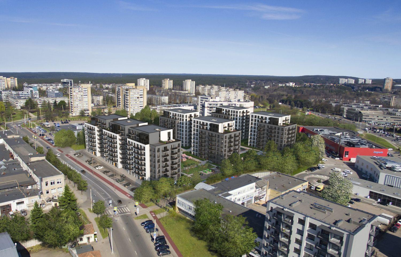 """""""Autoūkio"""" vietoje Vilniaus Žirmūnuose planuojami 519 butų"""