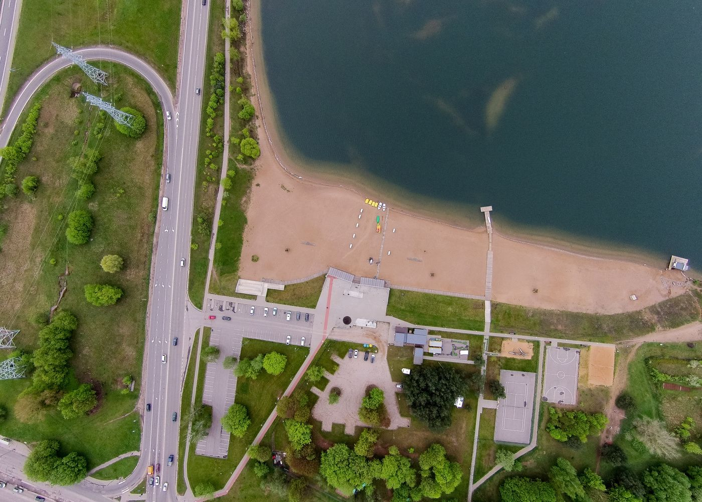 Netoli Kauno Lampėdžio ežero planuoja 200 butų