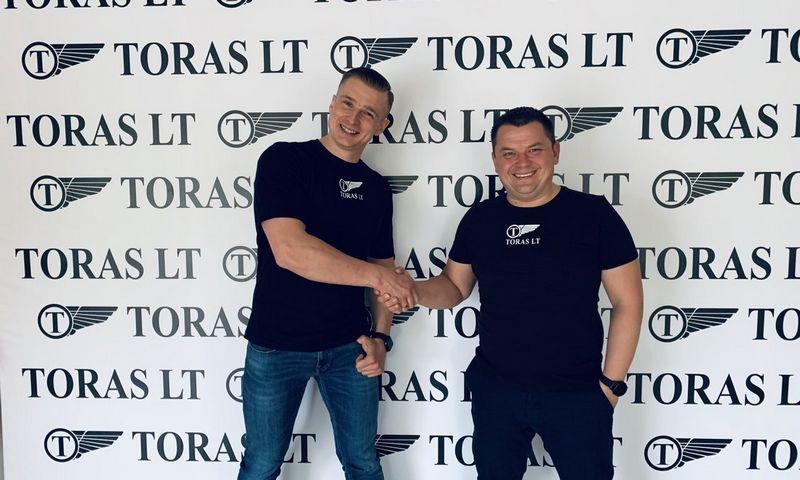 """Marijus Braška ir Ramūnas Petronavičius, UAB """"Toras"""" bendraturčiai."""