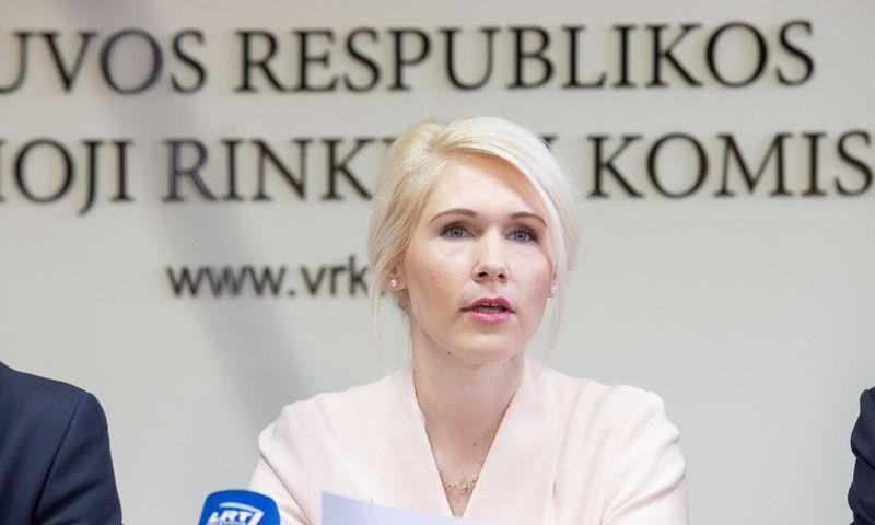 Laura Matjošaitytė, Vyriausiosios rinkimų komisijos pirmininkė. Juditos Grigelytės (VŽ) nuotr.
