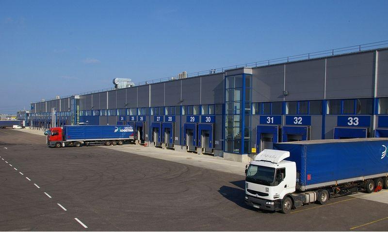 """""""Vingės logistikos"""" terminalas. Įmonės nuotr."""