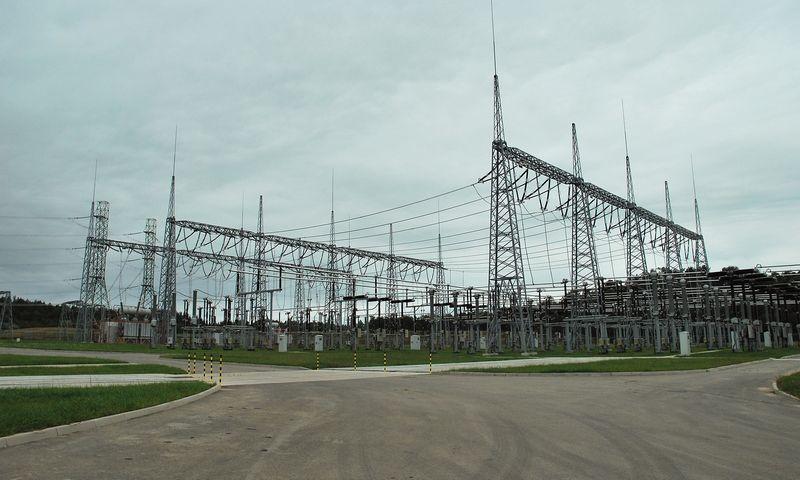 Elektros jungtis su Lenkija prie Alytaus. Naglio Navako (VŽ) nuotr.