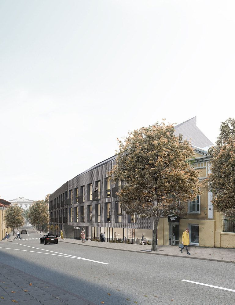 """""""Hanner"""" investuoja į butų projektą Vilniaus senamiestyje"""