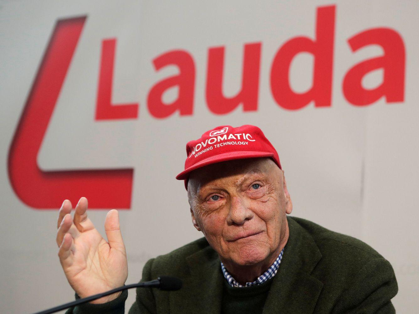 """Mirėlegendinis """"Formulės 1"""" čempionas Nikis Lauda"""
