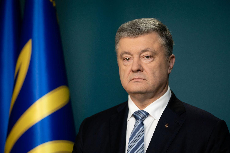 Savo prezidentavimo metu P. Porošenka neteko milijardieriaus statuso