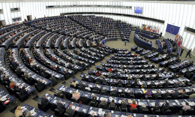 Europos Parlamente iš viso yra 752 vietos, tik 11 mandatų priklauso Lietuvai. Vincent Kessler (Reuters/Scanpix) nuotr.