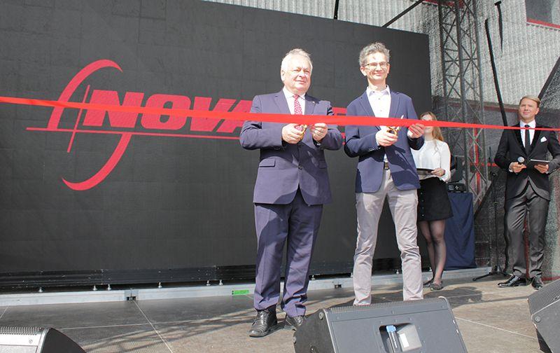 """""""Novameta"""" persikėlė į 3 kartus didesnę gamyklą Kaune"""