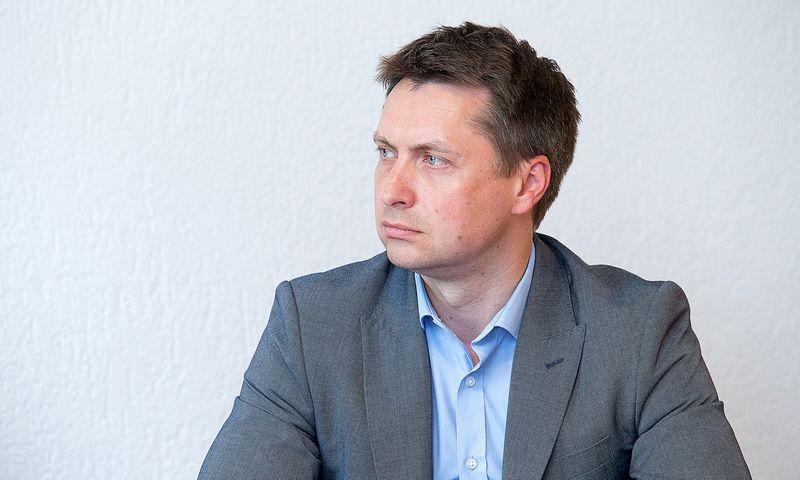 Elonas Šatas, Konkurencijos tarybos narys. Juditos Grigelytės (VŽ) nuotr.