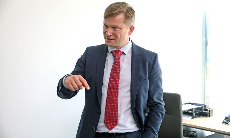"""Saulius Putrimas, UAB """"Merko statyba"""" generalinis direktorius. Vladimiro Ivanovo (VŽ) nuotr."""