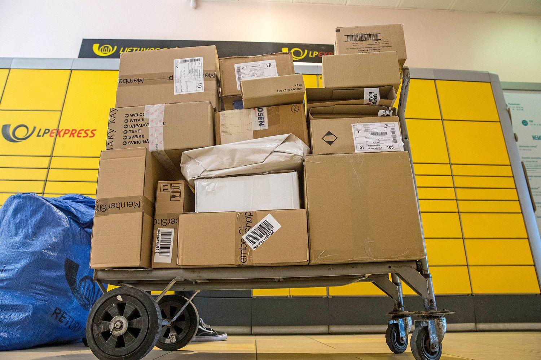 Pašto sektoriuje – didėjantis siuntų srautas ir spaudimas nacionalinei įmonei