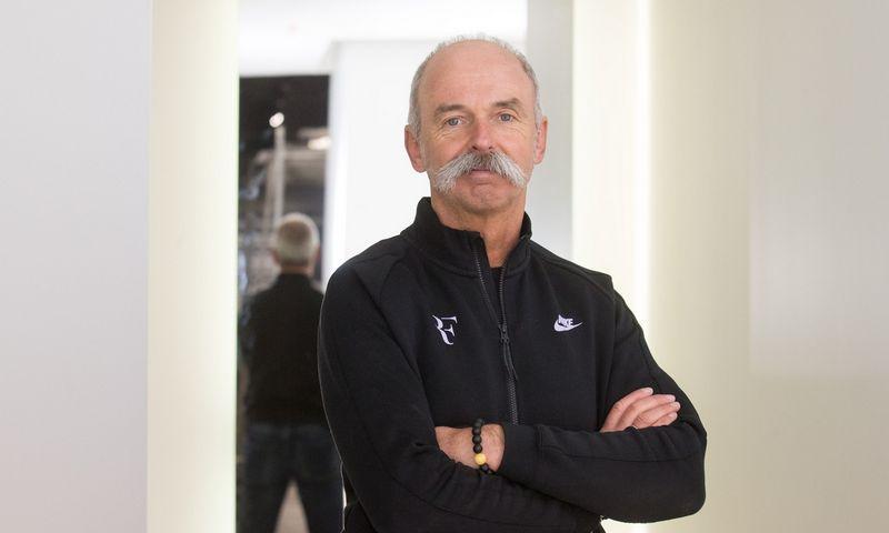 "Vladas Korsakovas, ""Sportland LT"" valdybos pirmininkas. Juditos Grigelytės (VŽ) nuotr."