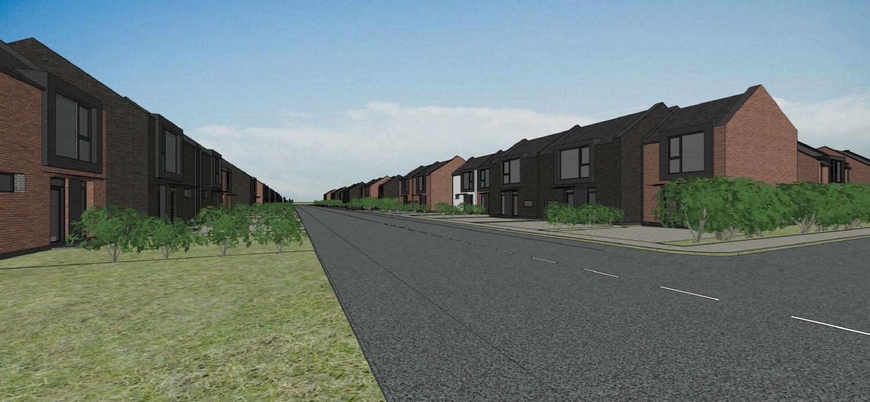 Klaipėdoje planuojamas 106 namų projektas