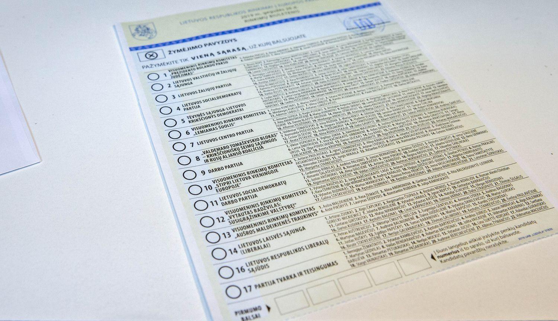 Naujojo EP projekcijos rodo, kad Lietuvoje sėkmė lydės konservatorius