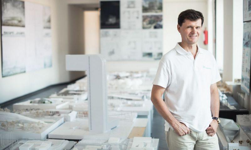 VGTU profesorius architektas dr. Gintaras Stauskis.