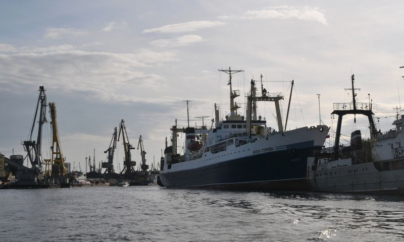 Kaliningrado uostas. Aušros Barysienės nuotr.