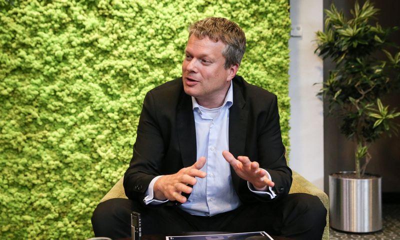 """Gijsas Klompas, Pietų Afrikos Respublikos (PAR) NT kompanijos """"NEPI Rockcastle"""" įsigijimų vadovas. Vladimiro Ivanovo (VŽ) nuotr."""