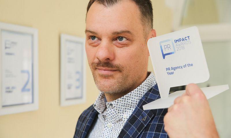 """Paulius Tamulionis, agentūros """"Idea prima"""", pernai tapusios Metų agentūra, vadovas, partneris. Vladimiro Ivanovo (VŽ) nuotr."""