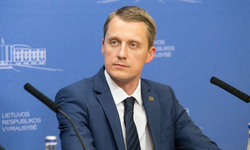 Žygimantas Vaičiūnas, energetikos ministras. Juditos Grigelytės (VŽ) nuotr.
