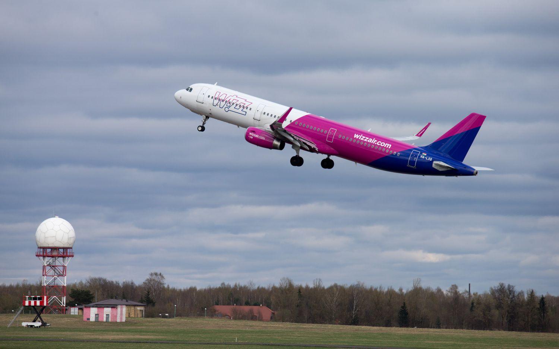 """Wizz Air"" iš Vilniaus skraidins į Eilatą"