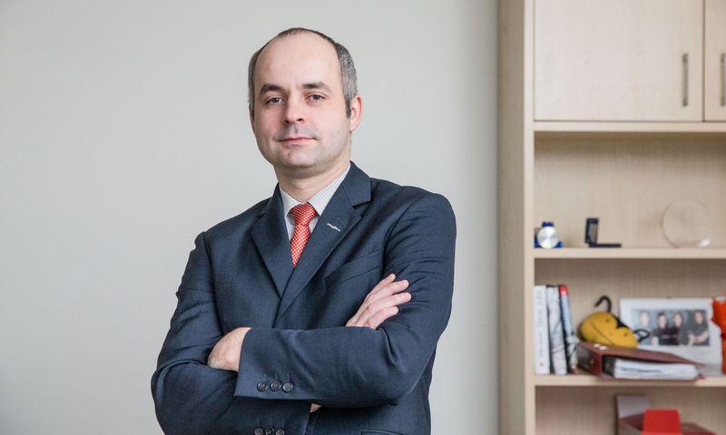 """įkurtos įmonės """"Paysera Investments"""" vadovas, pagrindinis """"Paysera"""" įmonių grupės akcininkas Kostas Noreika. Juditos Grigelytės (VŽ) nuotr."""