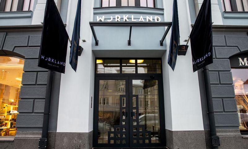 """Pilno aptarnavimo biurų centras """"Workland"""" Vilniuje, Didžioji g. 18. Juditos Grigelytės (VŽ) nuotr."""