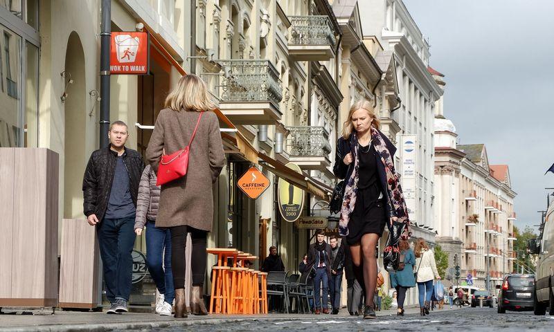 Vilniaus gatvė po rekonstrukcijos. Vladimiro Ivanovo (VŽ) nuotr.