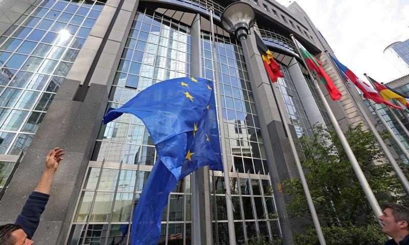 """Euroskeptiškų balsų po rinkimų Europos Parlamente turėtų padaugėti. Yves'o Hermano (""""Reuters"""" / """"Scanpix"""") nuotr."""