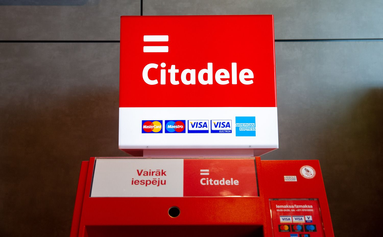 """""""Citadele banka"""" rezultatai I ketvirtį prastėjo"""