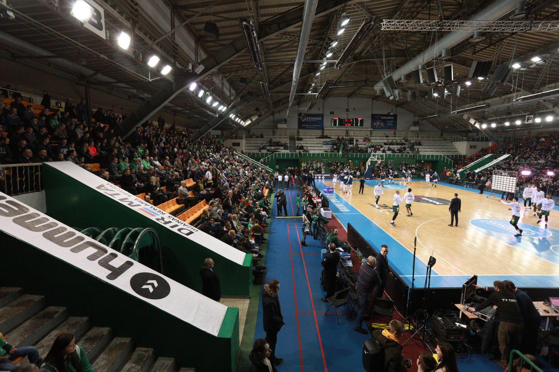 Kauno sporto halėsrekonstrukcija sustabdyta