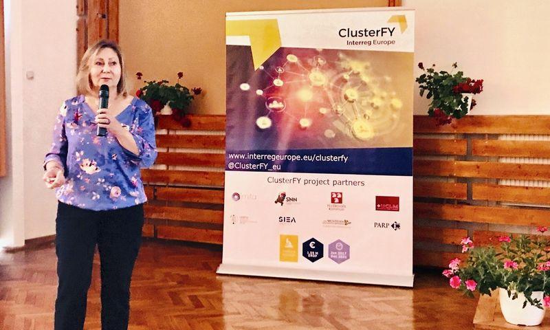 """Rima Dijkstra, """"ClusterFY"""" projekto vadovė: """"Labai svarbu skatinti klasterių tarptautinį bendradarbiavimą, integraciją į inovatyvias vertės grandines ir geresnį Sumanios specializacijos strategijos įgyvendinimą."""""""