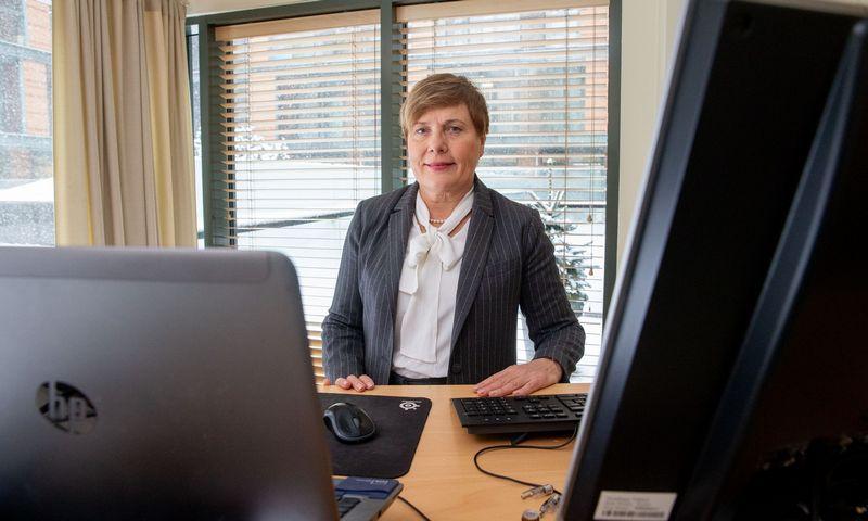 """UAB """"J. Friisberg & Partners"""" vadovaujanti partnerė Nijolė Kelpšaitė. Juditos Grigelytės (VŽ) nuotr."""