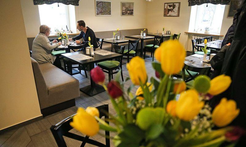 """""""Gojaus"""" restoranas Lazdijuose kitoks, nei įprasta provincijoje. Vladimiro Ivanovo (VŽ) nuotr."""