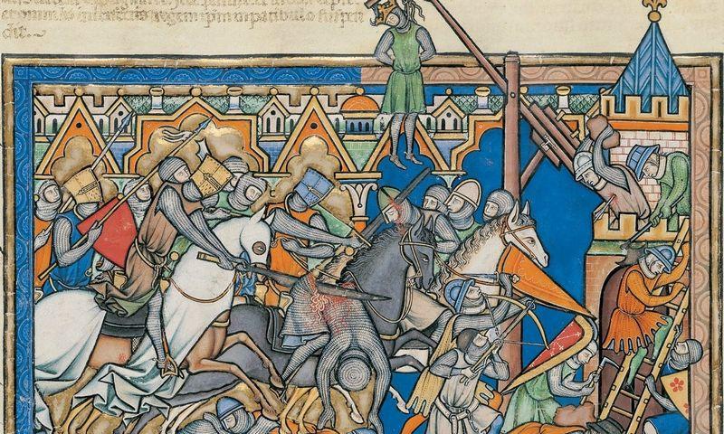 Viduramžiai: Higiena prasideda ir baigiasi ritualiniu apiplovimu prieš pakasynas. Vikipedijos iliustr.